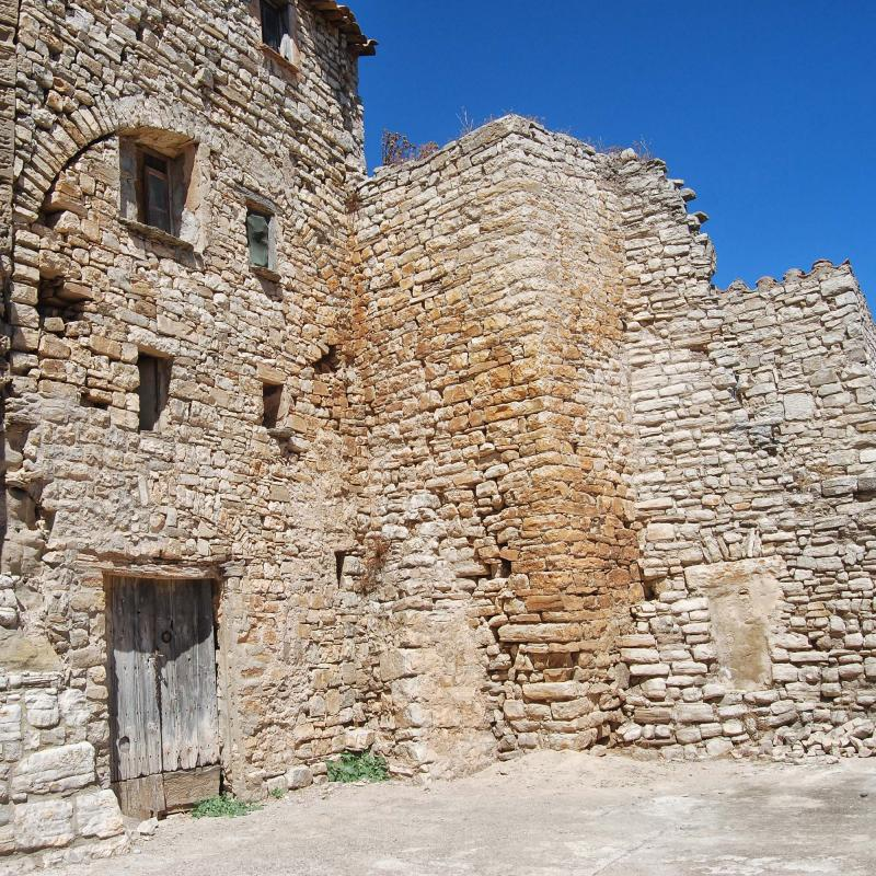 Castle of Santa Fe - Author Ramon Sunyer (2016)