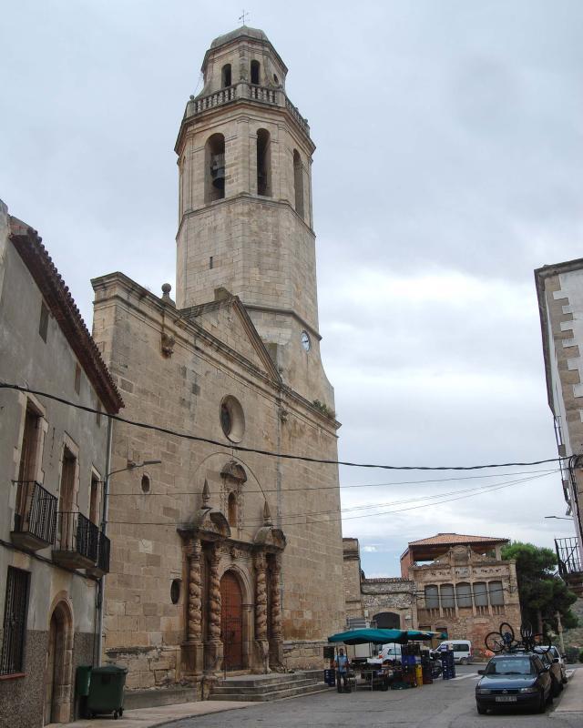 Iglesia de Sant Martí - Autor Ramon Sunyer (2016)