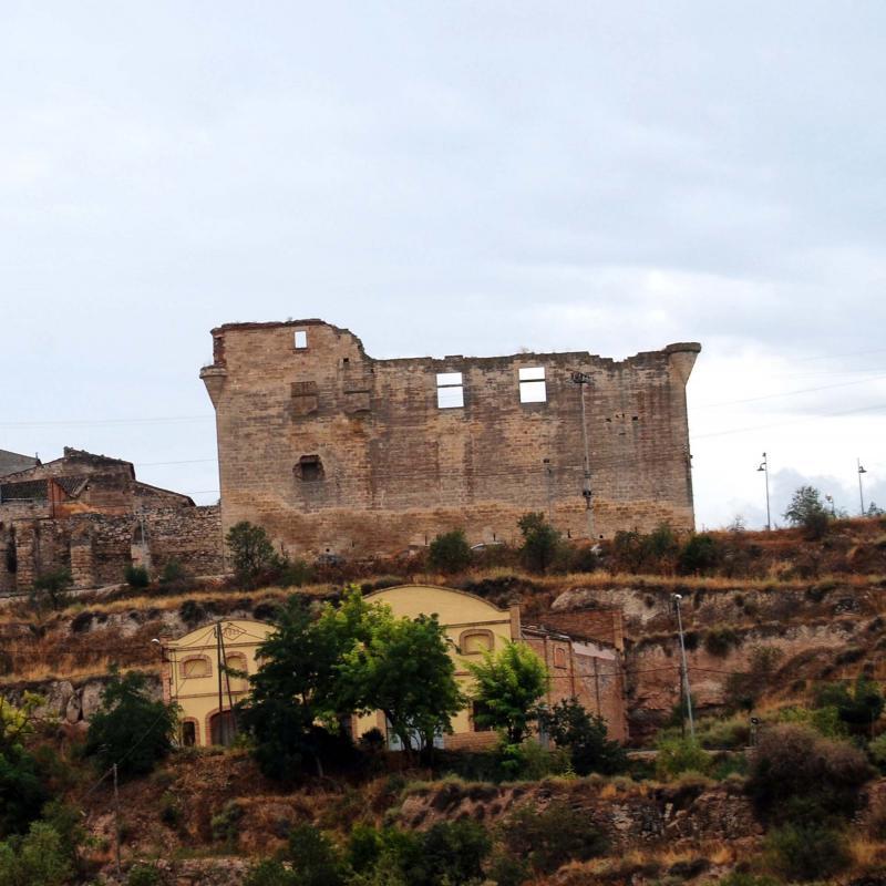 24.08.2016 castell  Maldà -  Ramon Sunyer