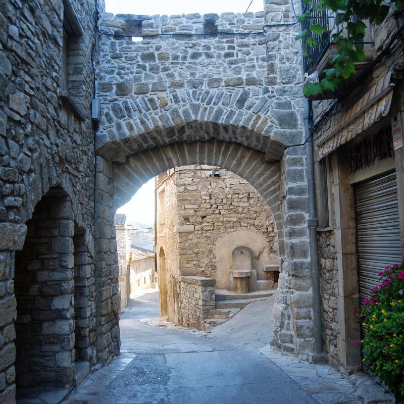24.08.2016 portal de Verdú  Guimerà -  Ramon Sunyer