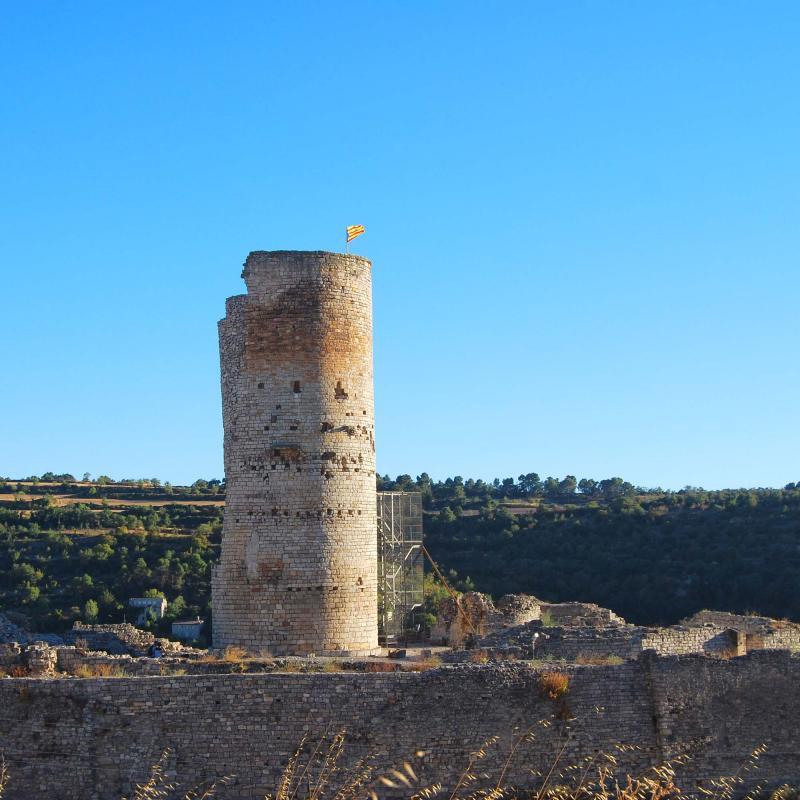 Castillo de Guimerà - Autor Ramon Sunyer (2016)