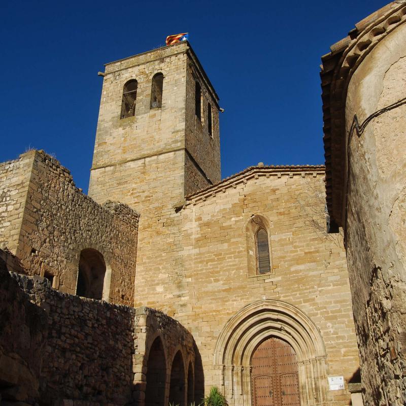 24.08.2016 església de Santa Maria  Guimerà -  Ramon Sunyer