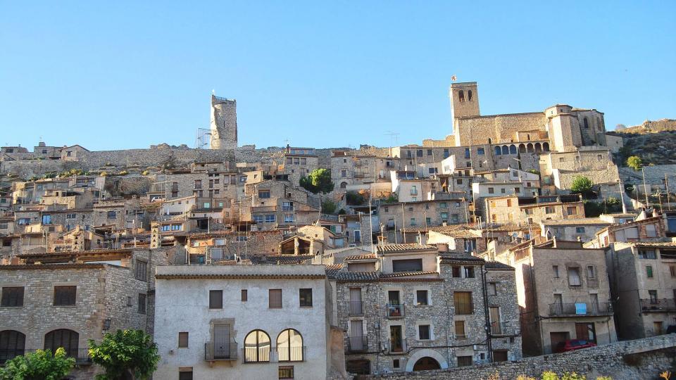 Vista del poble - Guimerà