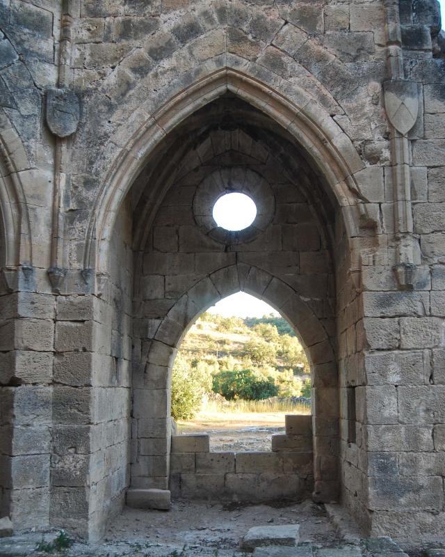24.08.2016 monestir de Santa Maria de Vallsanta  Guimerà -  Ramon Sunyer