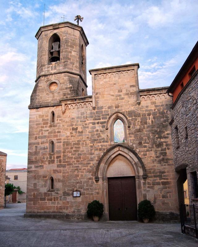 30.05.2015 Església de Sant Llorenç  Rocallaura -  Ramon Sunyer