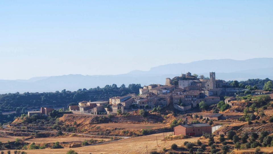 24.08.2016 vista  Montoliu de Segarra -  Ramon Sunyer