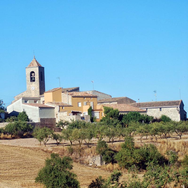 24.08.2016 església  L'Ametlla de Segarra -  Ramon Sunyer