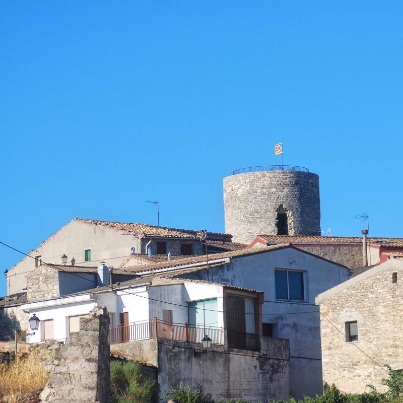 24.08.2016 torre  L'Ametlla de Segarra -  Ramon Sunyer