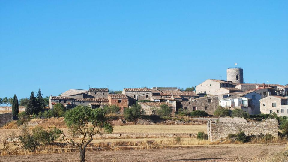 24.08.2016 vista  L'Ametlla de Segarra -  Ramon Sunyer