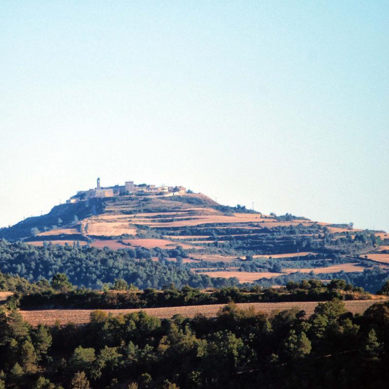 24.08.2016 Vista des de l'Ametlla de Segarra  Forès -  Ramon Sunyer