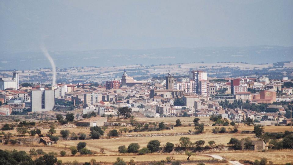 28.08.2016 vista des de granyena  Cervera -  Ramon Sunyer