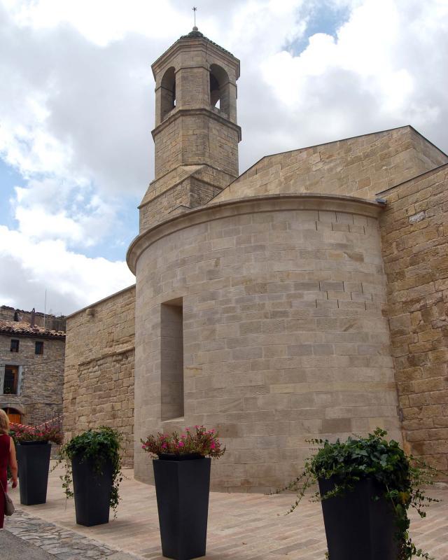 Église de Sant Miquel - Auteur Ramon Sunyer (2016)