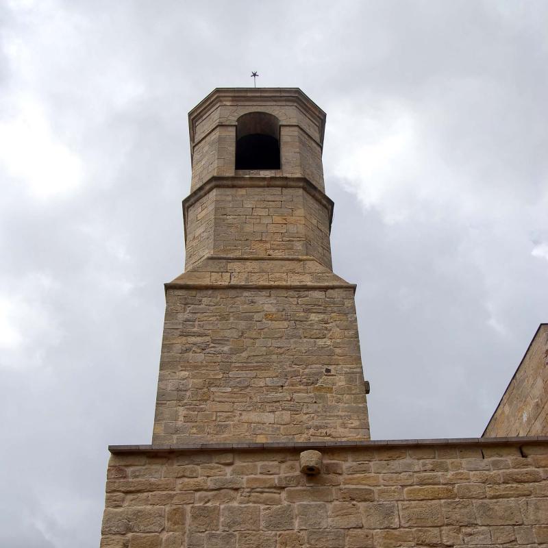 31.08.2016 Església de Sant Miquel   Forès -  Ramon Sunyer