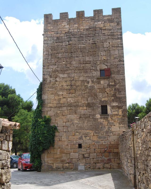 31.08.2016 torre  La Pobla de Ferran -  Ramon Sunyer