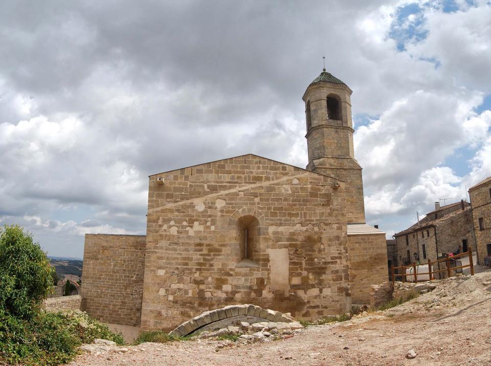 31.08.2016 Església de Sant Miquel romànic s XII  Forès -  Ramon Sunyer