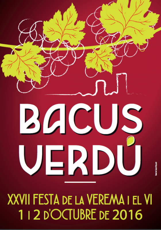 cartell 27a Festa de la Verema i el Vi