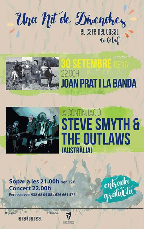 cartell Sopar Concert