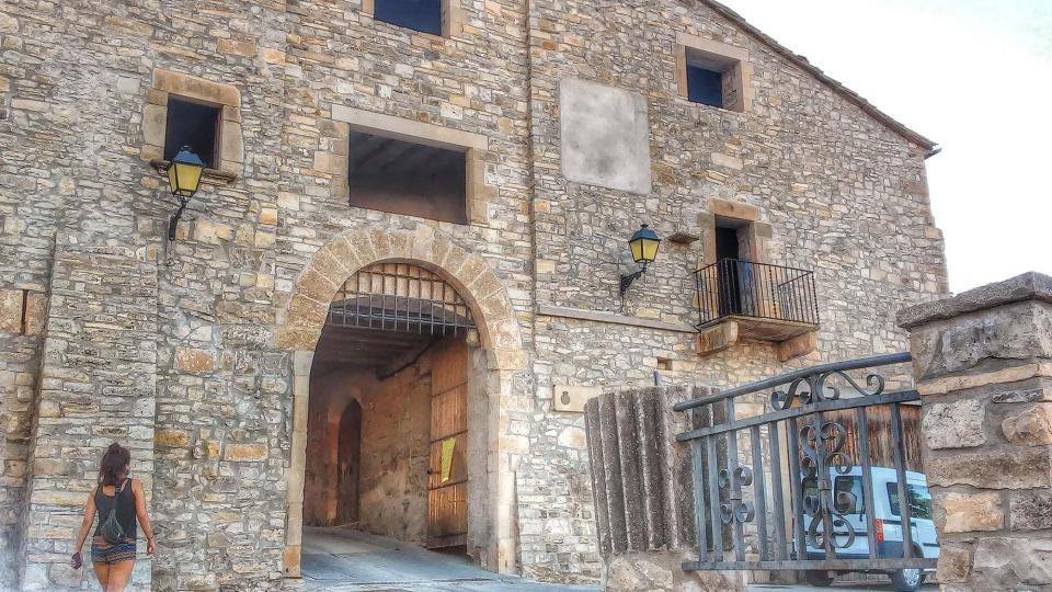 Walled town Mas de Bondia