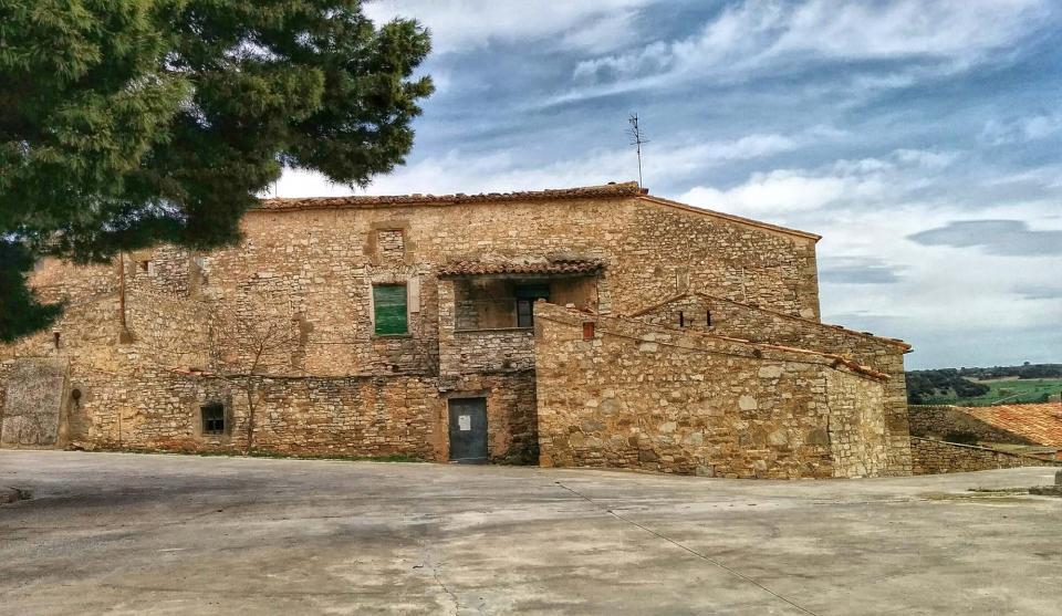 29.03.2015 castell  La Prenyanosa -  Ramon Sunyer