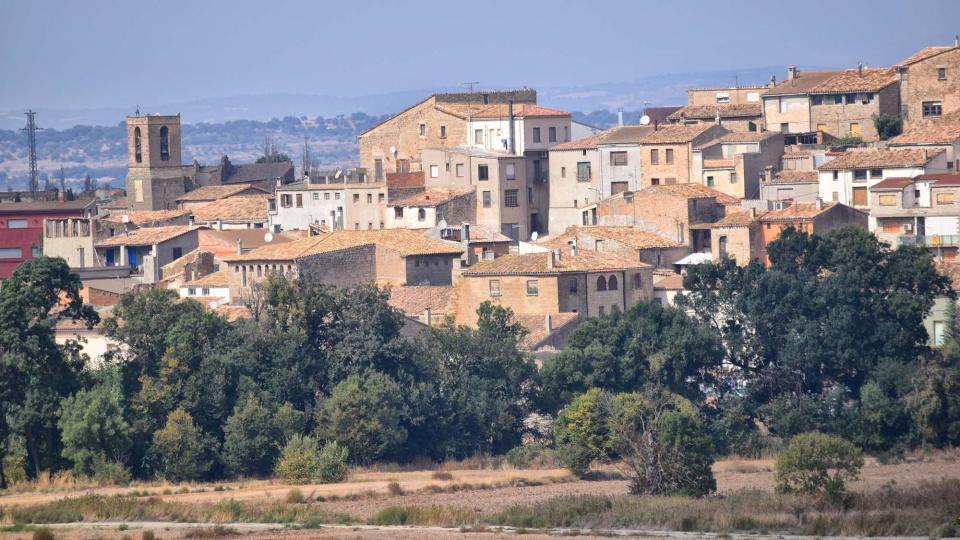 02.10.2016 vista del poble  Sedó -  Ramon Sunyer