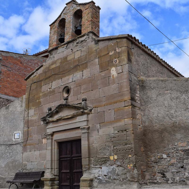 09.10.2016 Església Sant Salvador   Vergós -  Ramon Sunyer