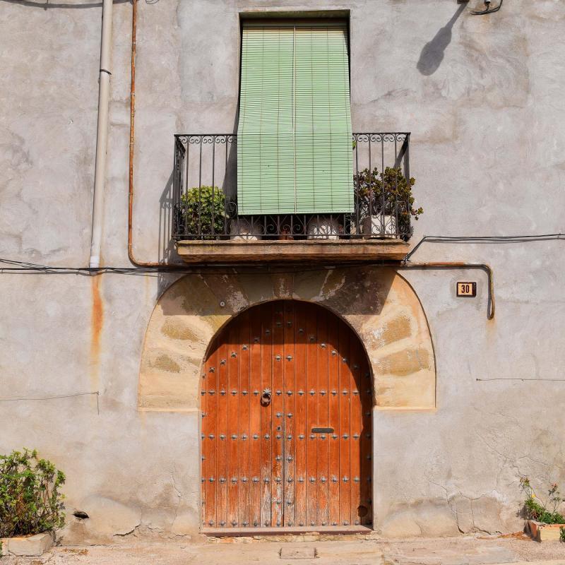 09.10.2016 detall façana  Vergós -  Ramon Sunyer