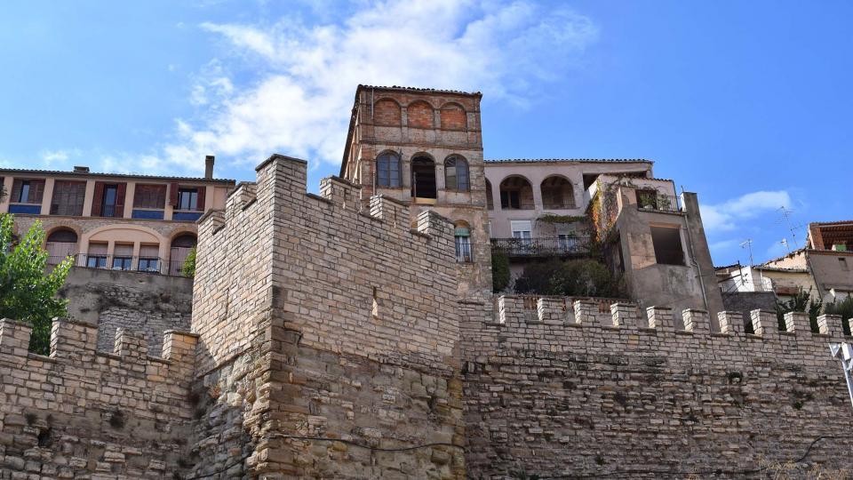 09.10.2016 muralles  Cervera -  Ramon Sunyer