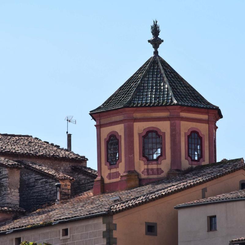 09.10.2016 Cimbori de la capella de la Immaculada  Cervera -  Ramon Sunyer