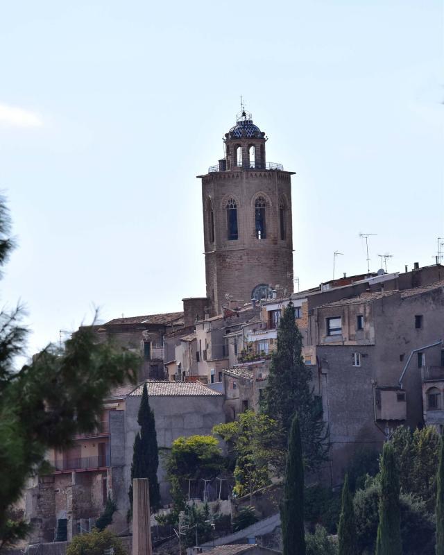 09.10.2016 Campanar de santa Maria  Cervera -  Ramon Sunyer