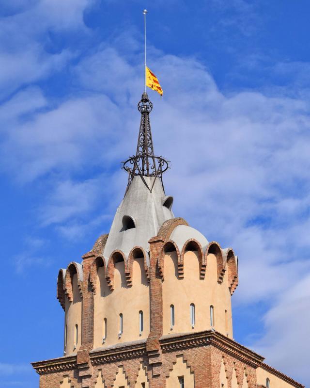 Torre de les punxes de la Farinera del Sindicat Agrícola - Cervera