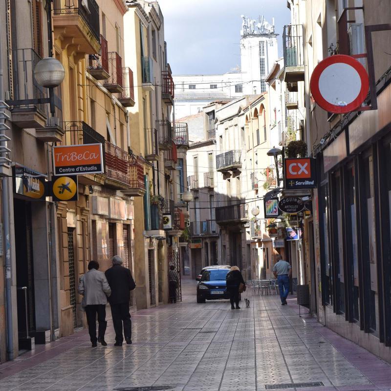 23.10.2016 carrer batalla  Cervera -  Ramon Sunyer
