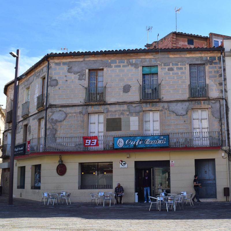 23.10.2016 cafè central  Cervera -  Ramon Sunyer