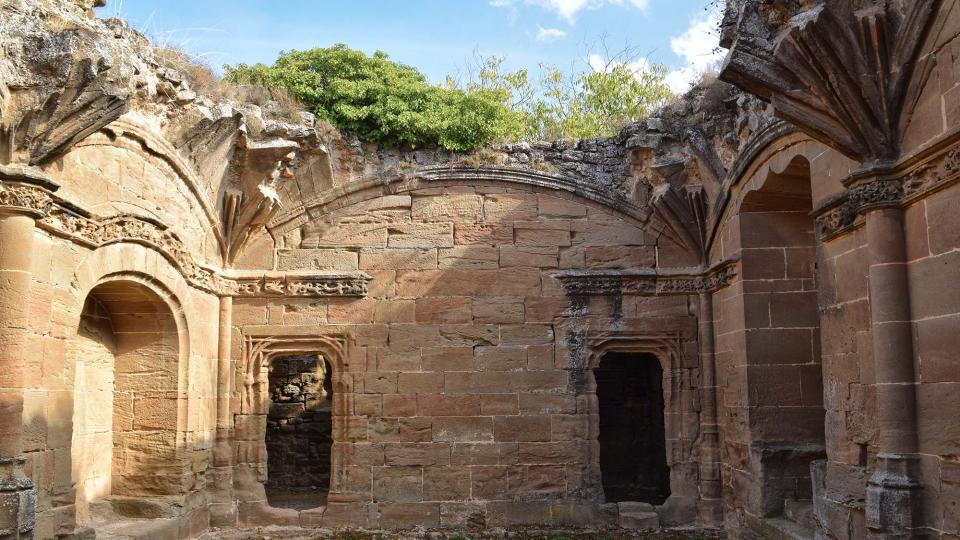 23.10.2016 Obra de'n Fluvià, palau episcopal inacabat  Guissona -  Ramon Sunyer