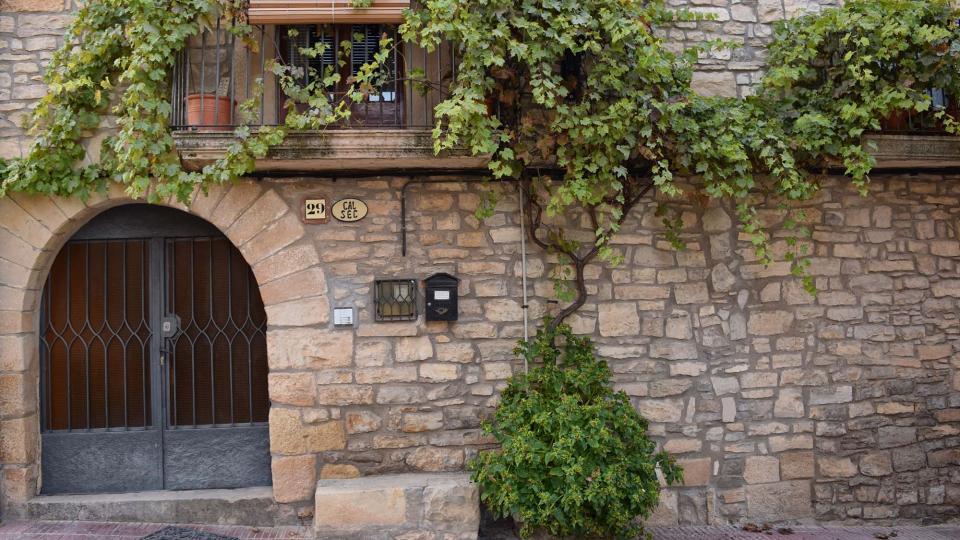 30.10.2016 Cal Sec  Vallfogona de Riucorb -  Ramon Sunyer