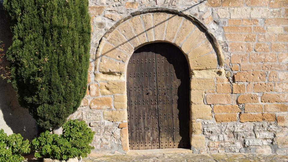 30.10.2016 Església de Santa Maria  La Cirera -  Ramon Sunyer