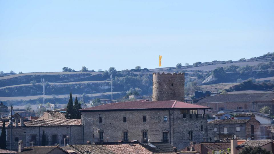 30.10.2016 castell  Santa Coloma de Queralt -  Ramon Sunyer