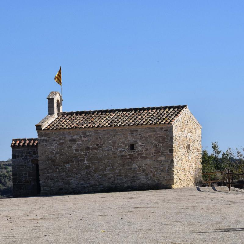 Capella de Sant Magí - Autor Ramon Sunyer (2016)