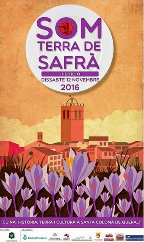 cartell Som Terra de Safrà 2016