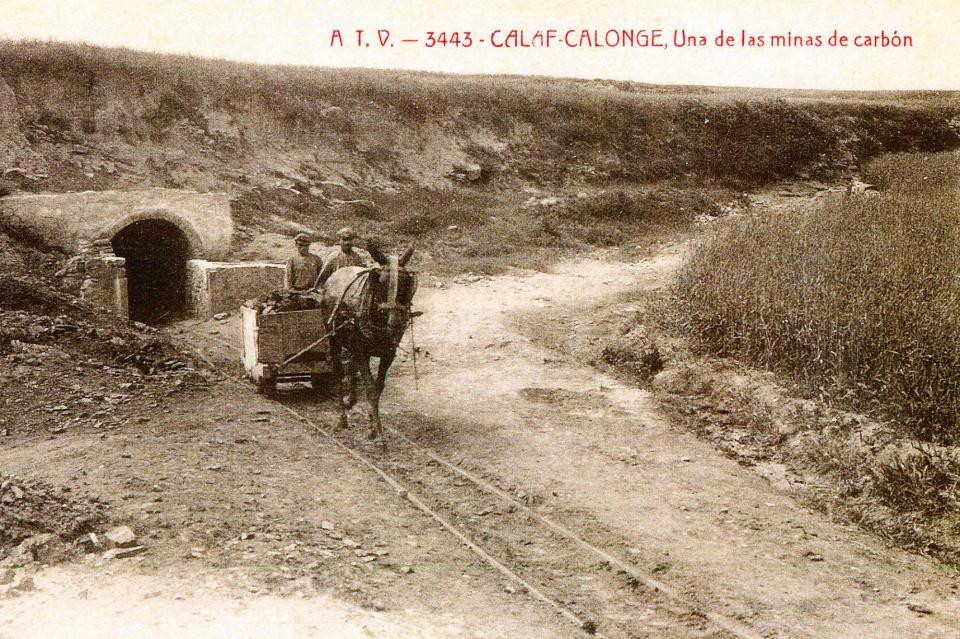Tret de sortida a un projecte per posar en valor la història de la mineria a Calaf