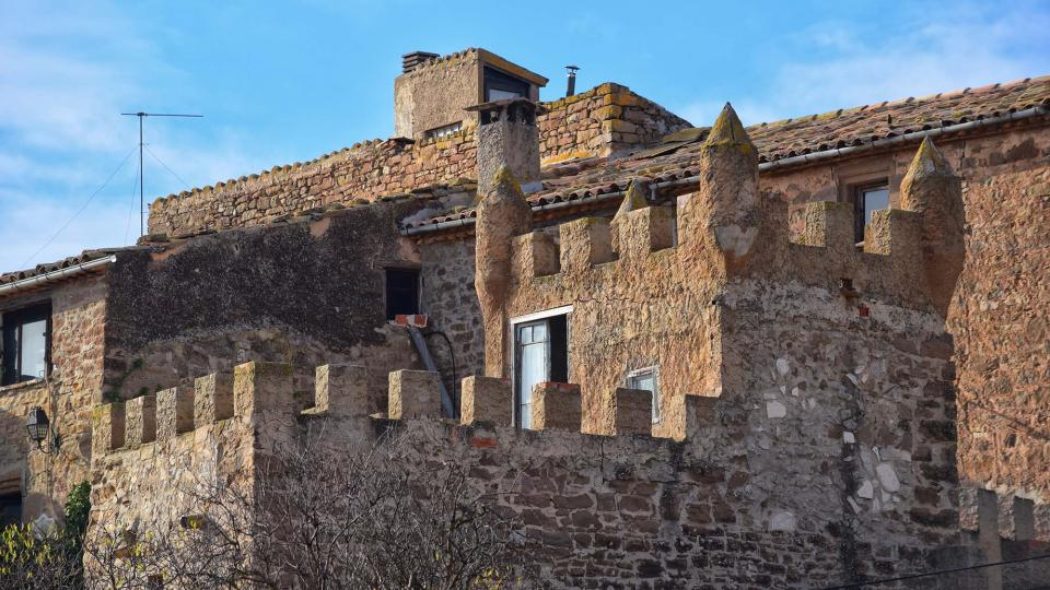 20.11.2016 castell  L'Aranyó -  Ramon Sunyer