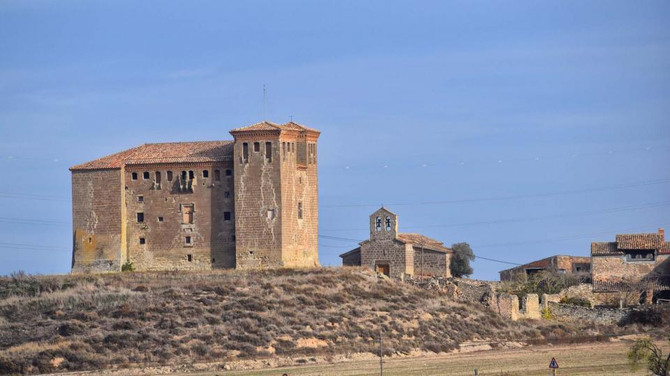 20.11.2016 castell  Montcortès de Segarra -  Ramon Sunyer
