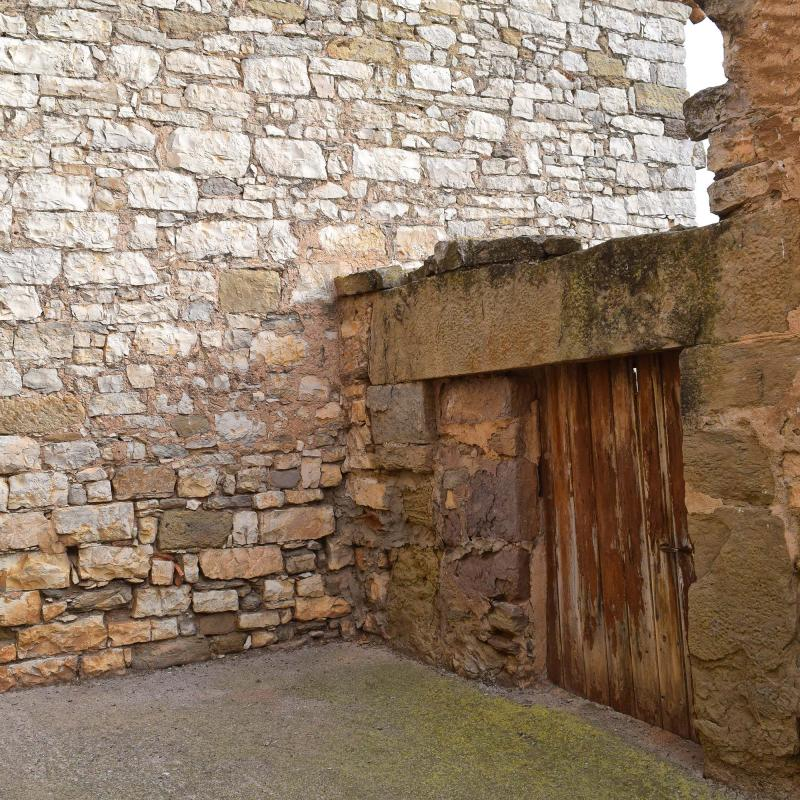 20.11.2016 detall porta  El Canós -  Ramon Sunyer