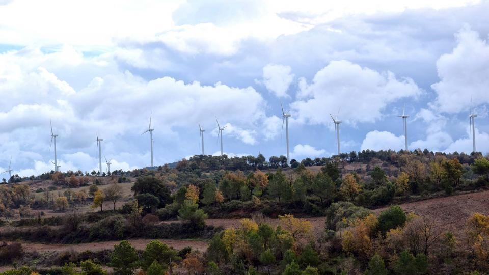 27.11.2016 Vista de les Maioles  -  Ramon Sunyer