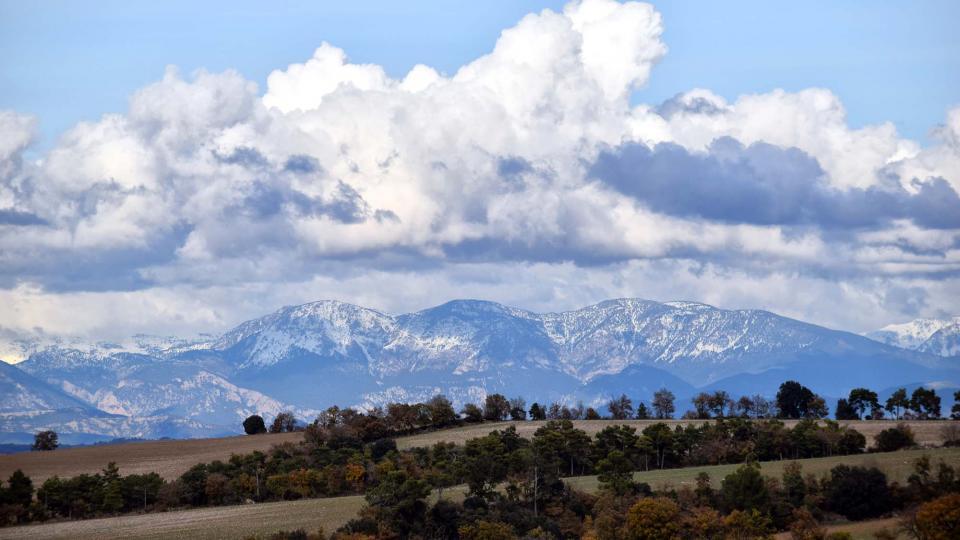 27.11.2016 Vista del Pirineu  -  Ramon Sunyer