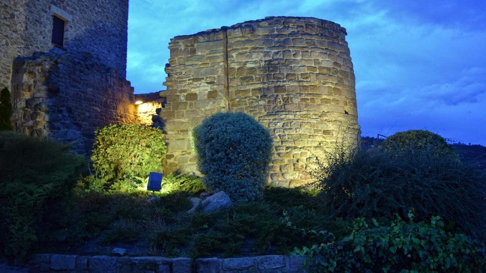 Castillo de Veciana - Autor Ramon Sunyer (2016)