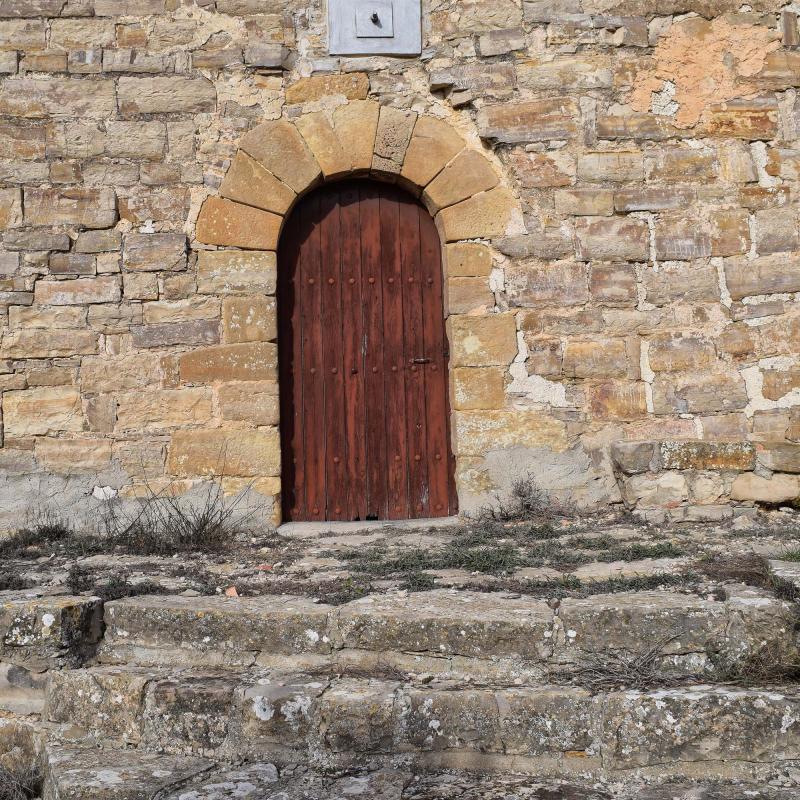 04.12.2016 Església de Sant Pere romànic s XI  Montfalcó el Gros -  Ramon Sunyer