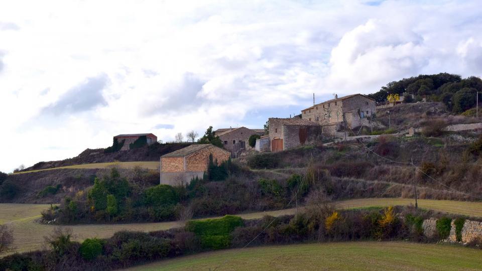 04.12.2016 El poble té 30 habitants  Montfalcó el Gros -  Ramon Sunyer