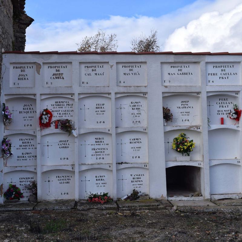 04.12.2016 Cementiri  Montfalcó el Gros -  Ramon Sunyer