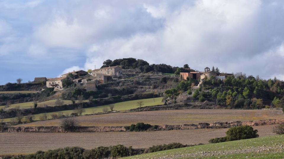 04.12.2016 vista  Montfalcó el Gros -  Ramon Sunyer