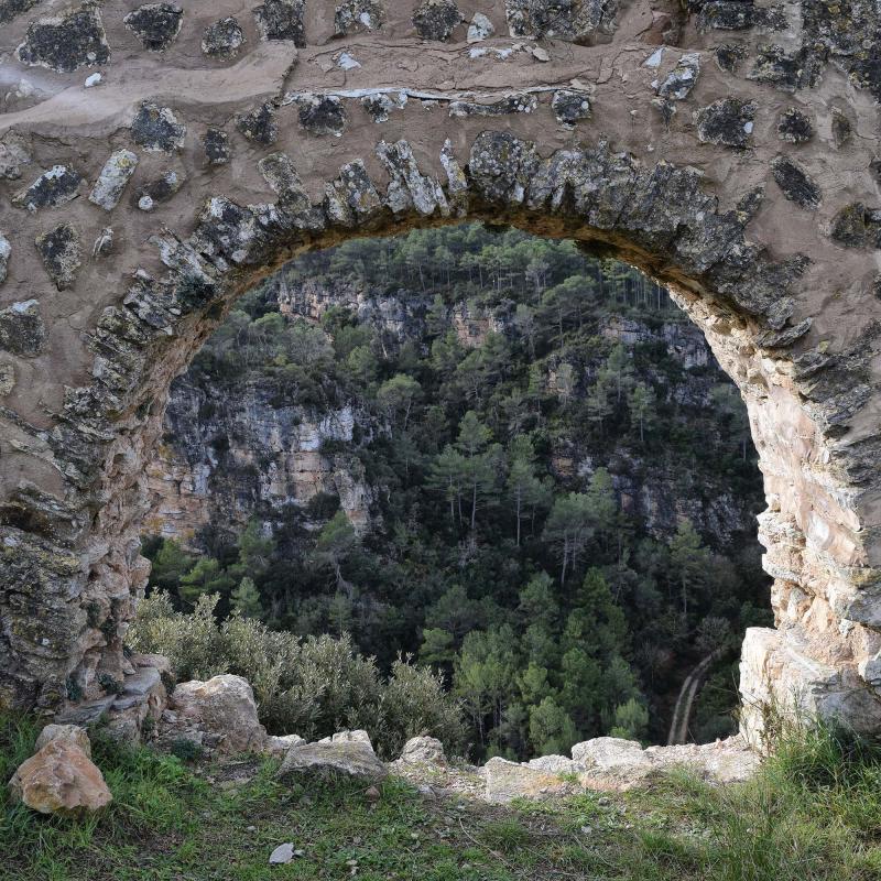 Castell de Santa Perpètua - Autor Ramon Sunyer (2016)